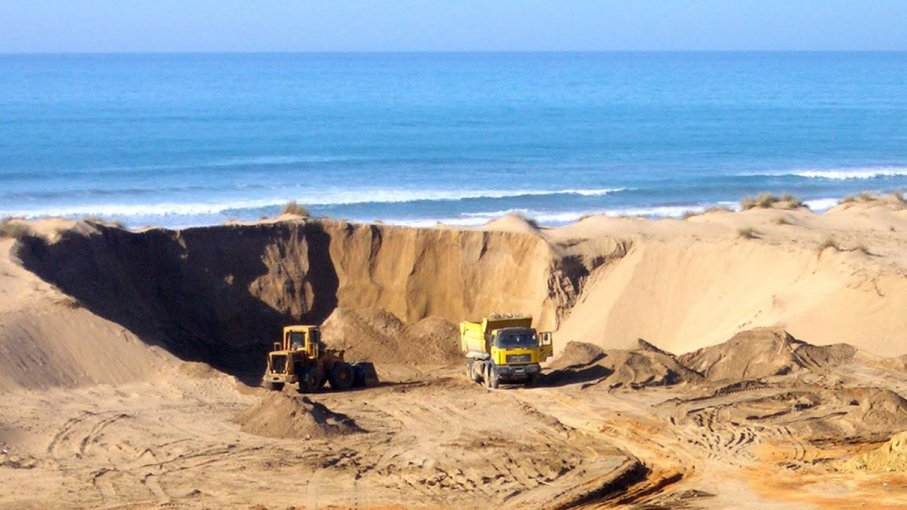 sand level construction